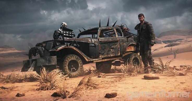"""Mad Max """"Savage Road"""" Trailer Features Vehicle Combat - http://www.gizorama.com/2015/news/mad-max-savage-road-trailer-features-vehicle-combat"""
