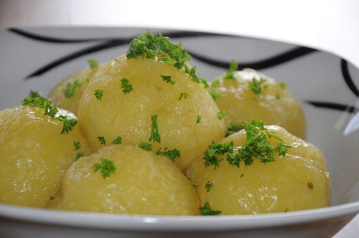 Klöße aus gekochten Kartoffeln (Kartoffelklöße) » DDR
