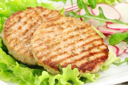 Homemade chicken burgers recipe