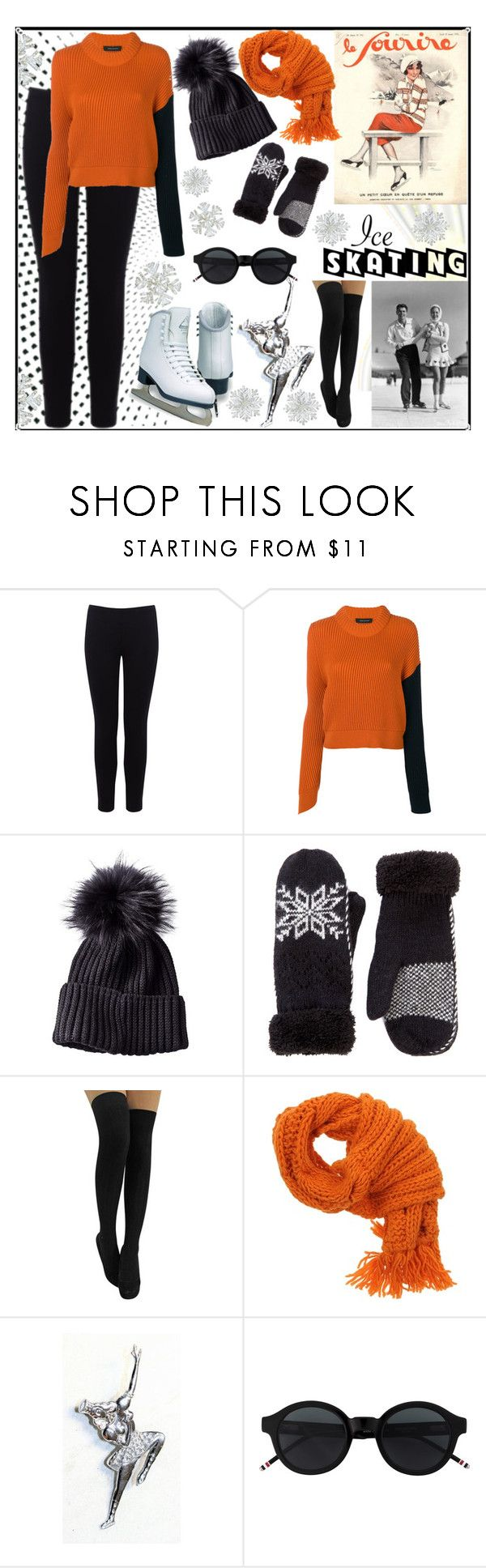 """""""Ice Skating"""" by jeneric2015 ❤ liked on Polyvore featuring Warehouse, Pinko and iceskatingoutfit"""