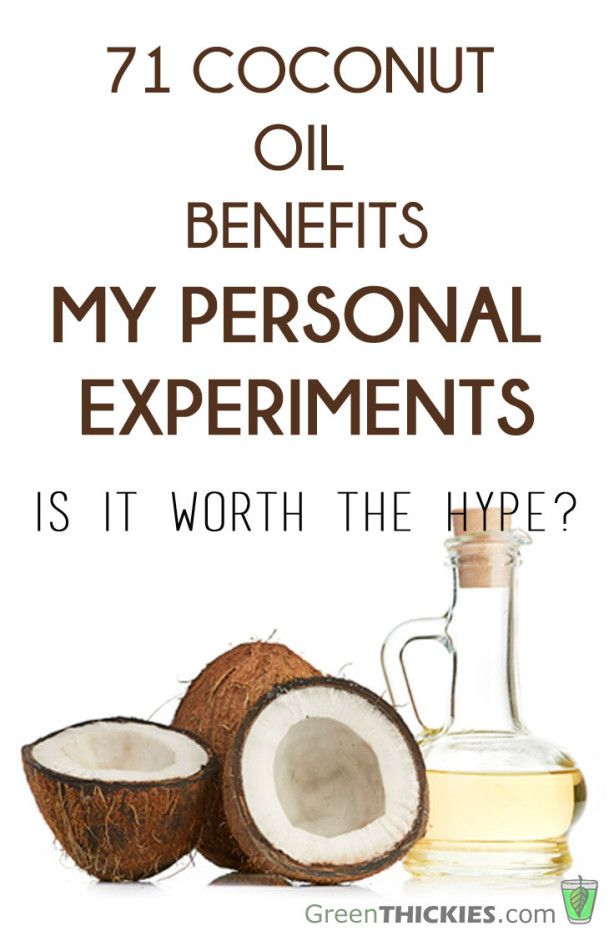 71 Coconut Oil Benefits: My Experiments with Coconut Oil #coconut oil benefits