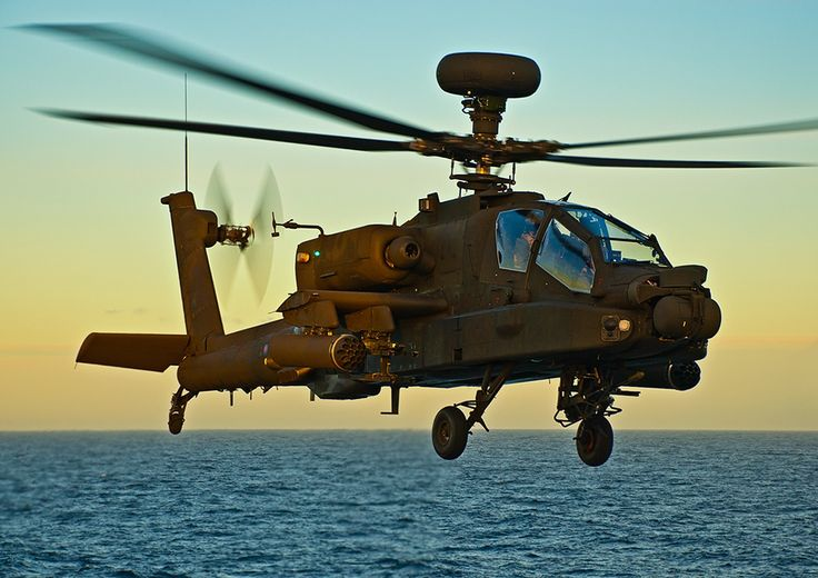 Apache AH-64 Landing on HMS Ark Royal by Liam McBride on 500px