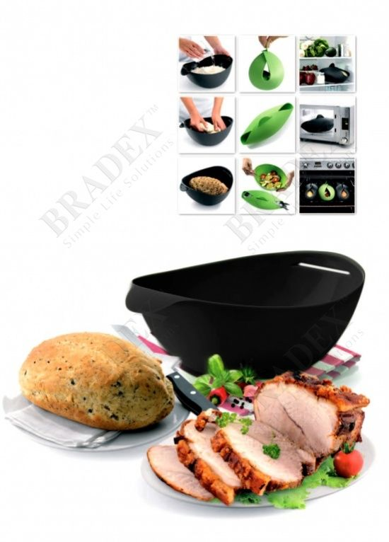 Форма силиконовая для выпечки и запекания АРТИКУЛ: TK 0235 Уникальная форма для выпечки и запекания – это удивительный способ приготовления блюд в духовом шкафу или микроволновой печи. Она прекрасно подойдет для выпечки хлеба, приготовления овощей, мяса или рыбы без добавления масла. Вам больше не придется мыть духовку, а также использовать фольгу или пакеты для запекания.  Преимущества: •  Экологичный пищевой силикон •  Удобная форма, предотвращающая вытекание сока или бульона • …