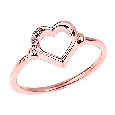 41 best Heart Promise Rings images on Pinterest