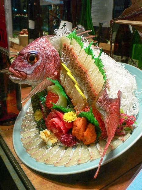 Poisson-sampuru en sashimi © Camille Oger http://www.lemanger.fr