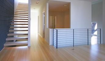 Bamboo flooring. Low-emitting materials ( formaldehyde-free). PlybooQuiet sound reduction flooring and underlayment system.