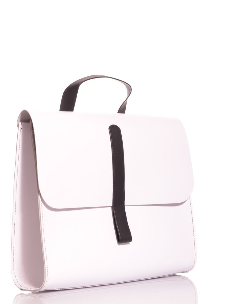 Caity Rucksack in White by Danielle Foster / Bags / Backpacks | Young British Designers