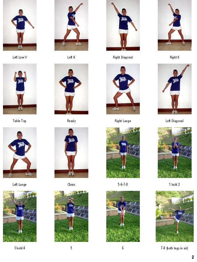 Cheer movements
