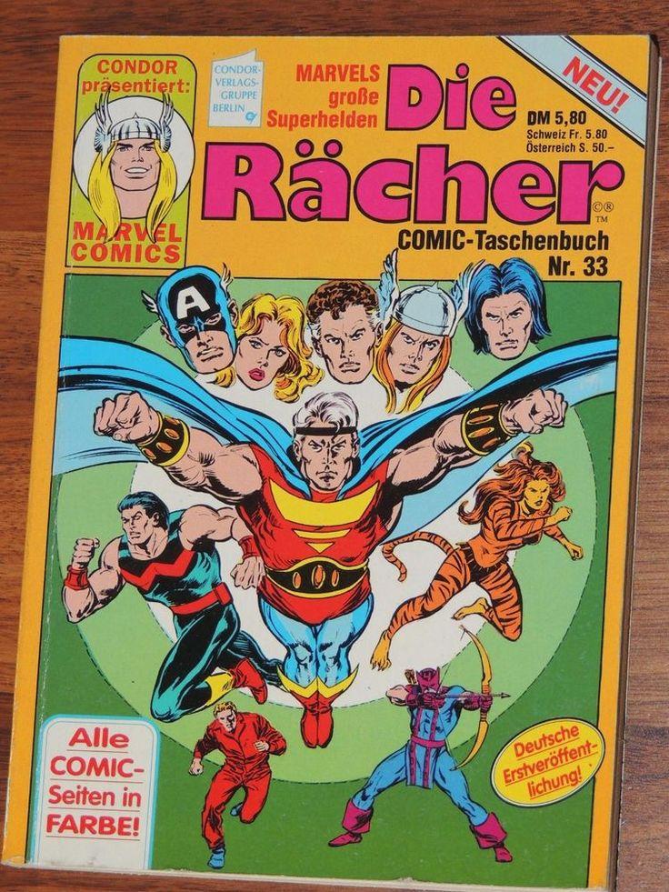 Marvel Comic Taschenbuch #33 Die Rächer (Condor Verlag)
