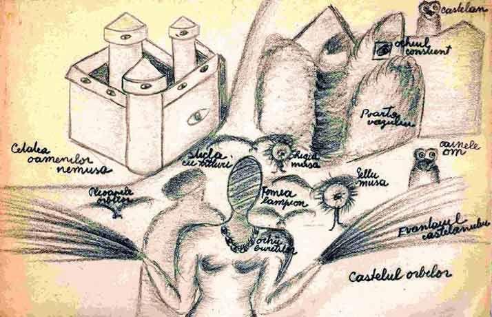 Ligia Naum- castelul orbilor
