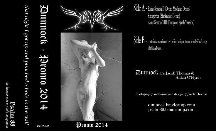 Reviews pt.II Moonspell Rites Promotions: Coming soon... Dunnock(CAN)-Promo .Psalm 88 'Darkn...