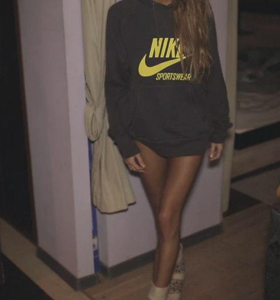 Love the Nike sweat shirt