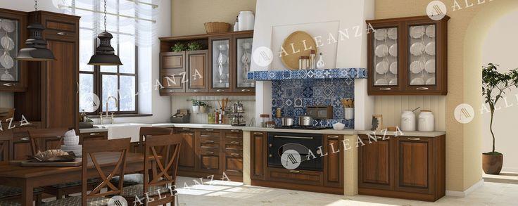 Салон Аллеанза: продажа кухонь | Купить европейские кухни Alleanza в…