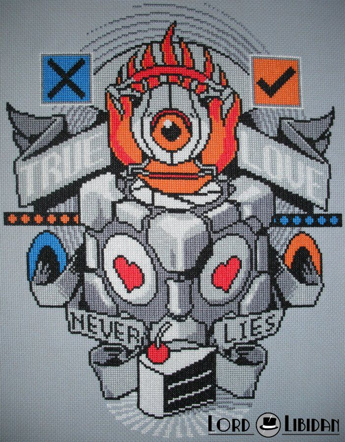 With over 75 completed stitches I still think this is my best. #portal #tattoo #crossstitch @lordlibidan  https://lordlibidan.com/free-portal-tattoo-cross-stitch-pattern/pic.twitter.com/iC0j3bFCxj