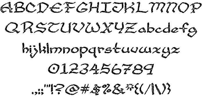 Cup and Talon font by Cumberland Fontworks - FontSpace