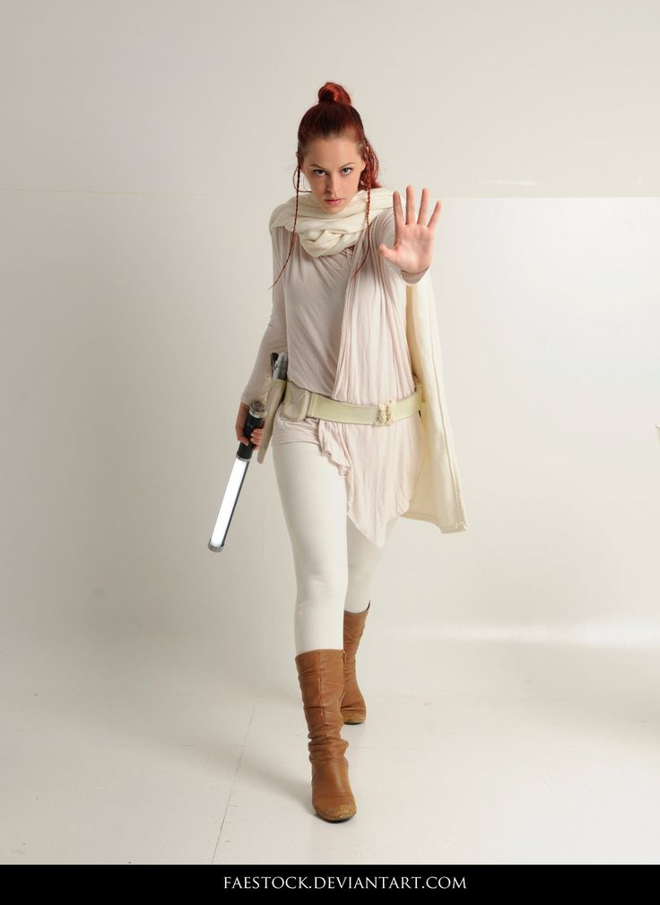 Jedi  - Stock Pose Reference 25 by faestock star wars female force cosplay costume LARP armor clothes clothing fashion player character npc | Create your own roleplaying game material w/ RPG Bard: www.rpgbard.com | Writing inspiration for Dungeons and Dragons DND D&D Pathfinder PFRPG Warhammer 40k Star Wars Shadowrun Call of Cthulhu Lord of the Rings LoTR + d20 fantasy science fiction scifi horror design | Not Trusty Sword art: click artwork for source