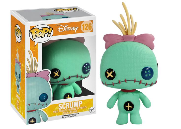 Disney Funko POP figurine Lilo & Stitch - Scrump - Funko POP!/Pop! Disney - Little Geek