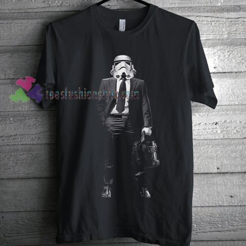 Men's Stormtrooper on the Job Hunt T-shirt gift Tees adult unisex custom clothing Size S-3XL