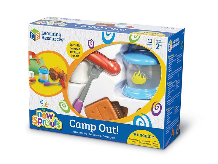 Amazon.com: Learning Resources New Sprouts Camp Out!, 11 Pieces: Toys & Games