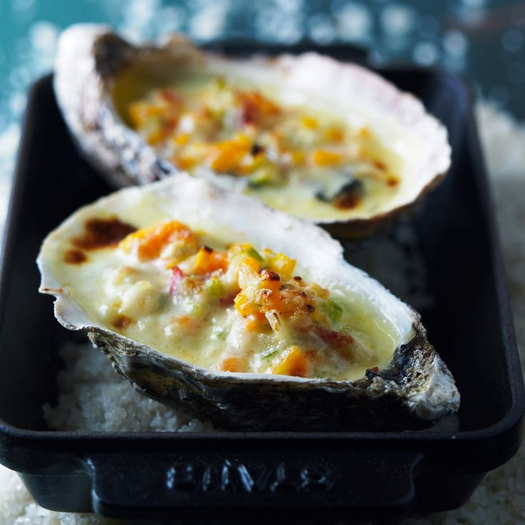 Découvrez la recette Huîtres gratinées sur cuisineactuelle.fr.