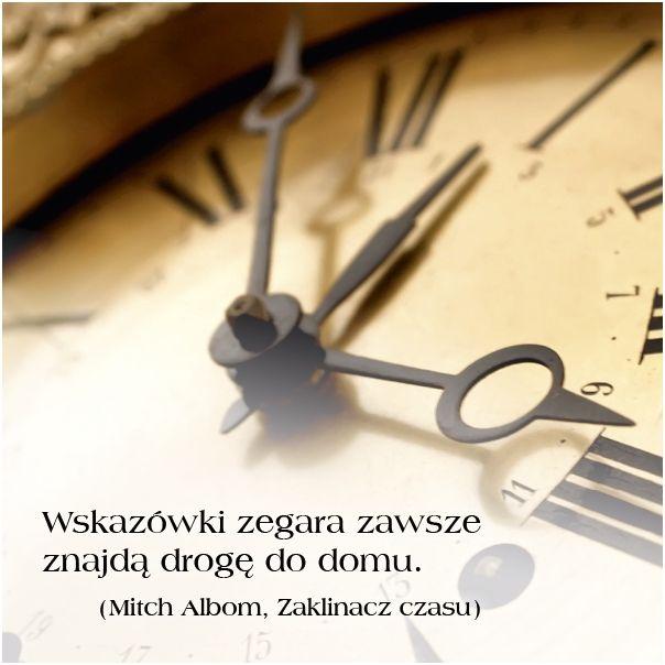 ...wskazówki zegara... The Time Keeper by Mitch Albom