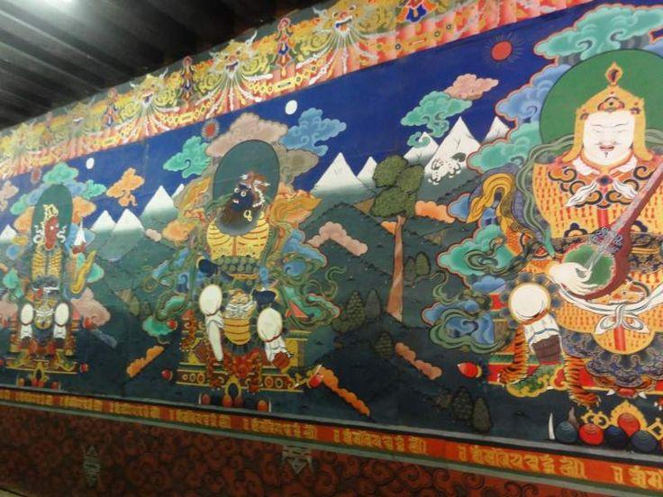 Postacie strażników czterech stron świata chronią wejścia do wszystkich klasztorów buddyjskich.