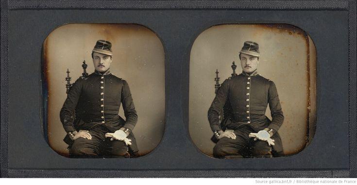 [Portrait d'un élève de l'Ecole impériale spéciale militaire de Saint Cyr] : [photographie] / William Thompson