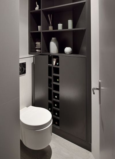 17 Best images about wc on Pinterest   Toilets, Wood columns and Haus