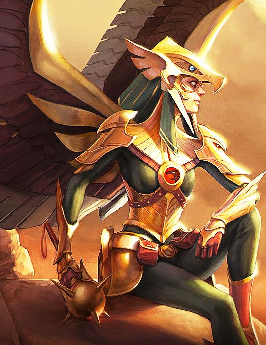 Kendra Saunders Hawkgirl in Infinite Crisis - More at https://pinterest.com/supergirlsart/