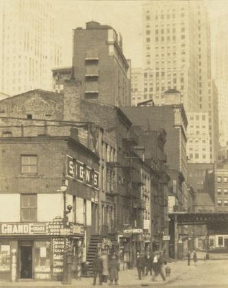 New York City, Old and New  Clara E. Sipprell (American, born Canada. 1885-1975)