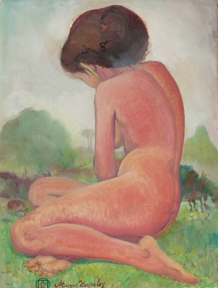 Nude in nature by Atanas Karpeles www.artinvesta.com/artwork/303
