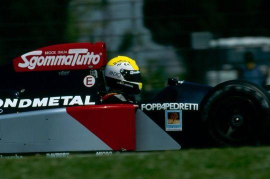 Andrea Chiesa Fondmetal - Ford 1992