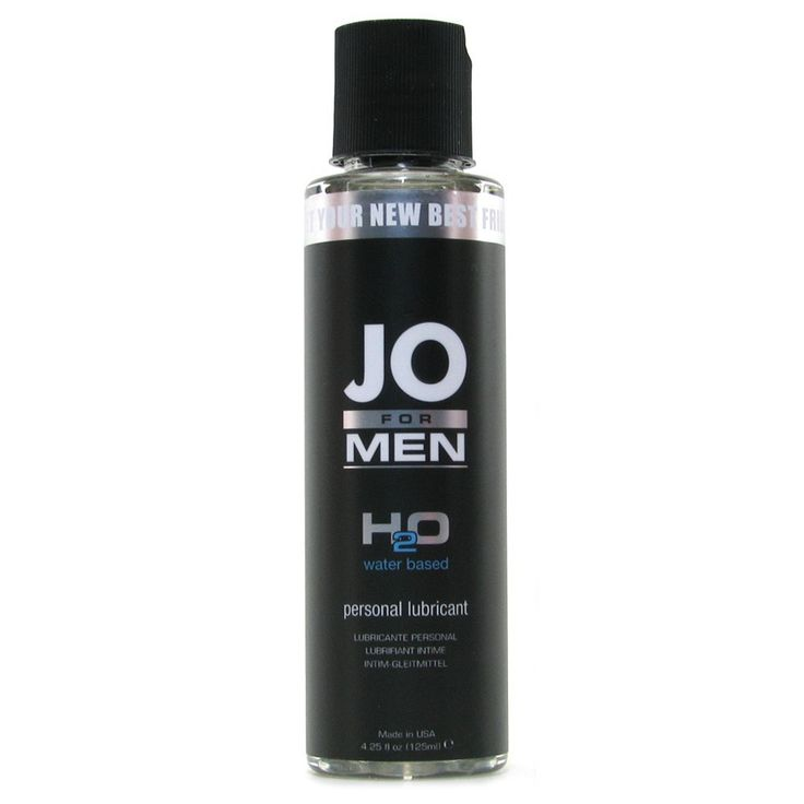 H2O Personal Lubricant for Men in 4.25oz/125mL - Bed Time Toys
