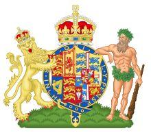 Coat of arms of Queen Alexandra (Queen/Dowager Queen from 1901-1925), consort of Edward VII