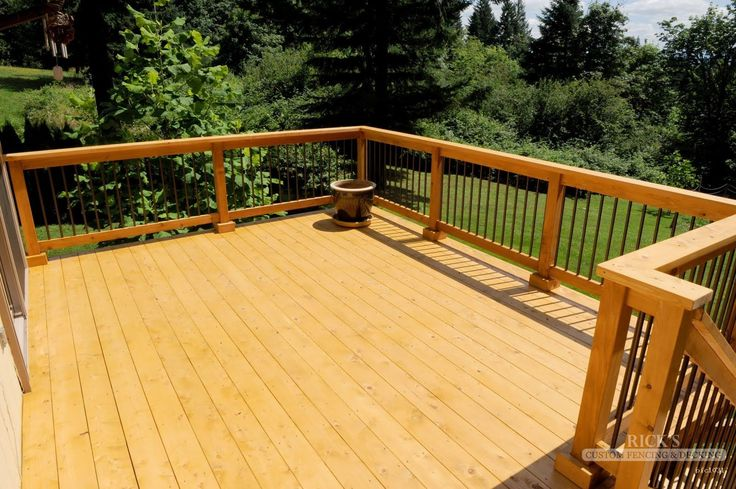 how to clean old cedar deck