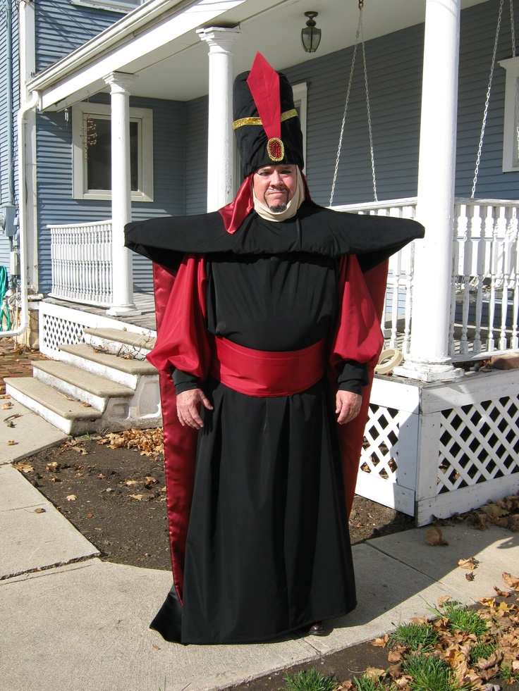 Dean as Jafar - home made costumes we made for Halloween 2012