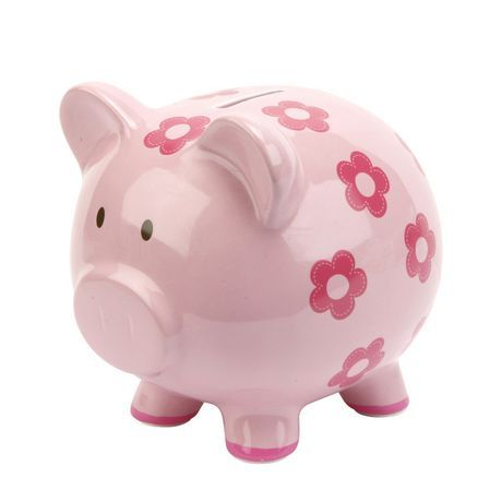 Girl's First Piggy Bank available from Walmart Canada. Shop and save Baby at everyday low prices at Walmart.ca