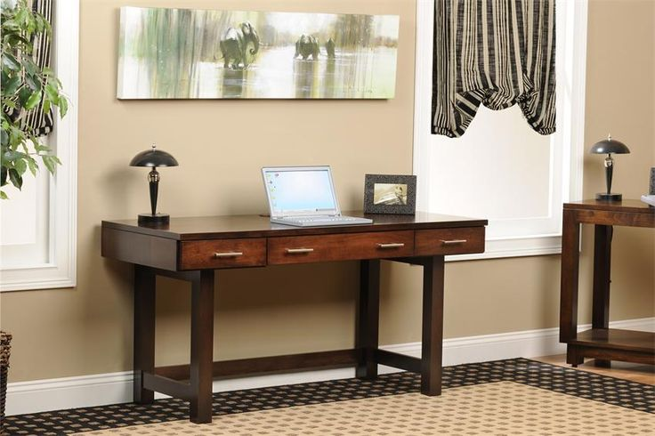 "Amish Urban Desk 60"" - I love how simple and contemporary this writing desk is! It would fit right in to a smaller bedroom or home office."
