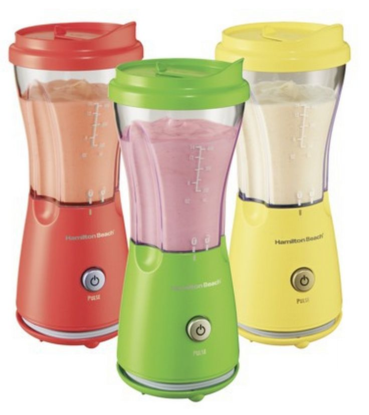 An easy, convenient way to make a smoothie. Single Serve Blenders! Part of the 100 Healthy Holiday Gifts & Pin-to-Win Contest #100healthygifts