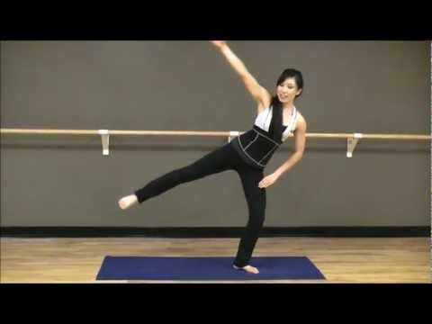 POP Pilates: Ernsthafter stehender Pilates für Beine, Po & Obliques hat es einfach geliebt