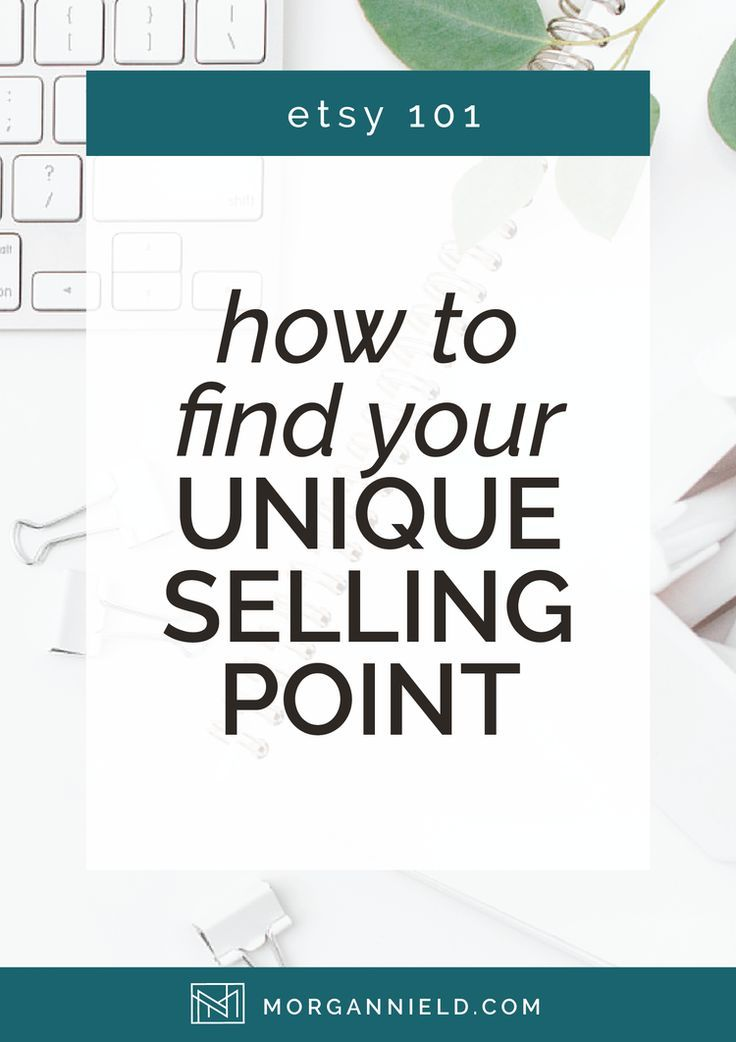 Unique Selling Proposition 101 - Stand Out In The Crowd — Morgan Nield
