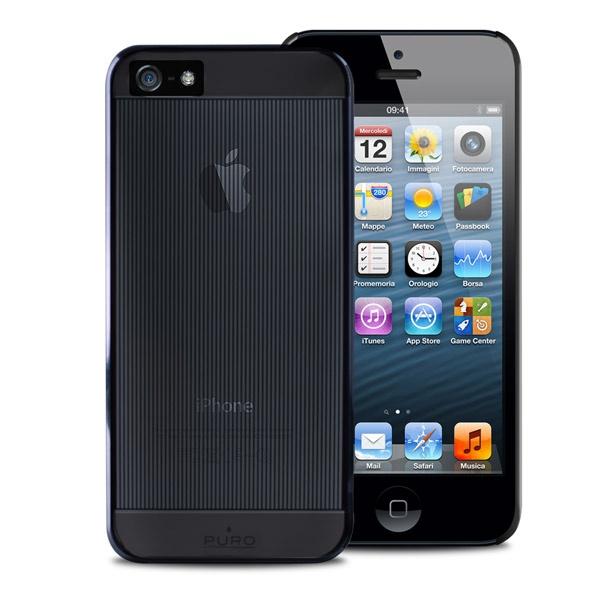 Cover Mirror iPhone 5 #black #puro #puroitalianstyle