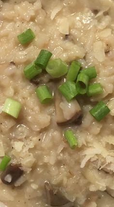 Instant Pot Mushroom Garlic Risotto