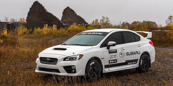 Introducing the eagerly-awaited 2015 WRX STI Super Production Rally Car