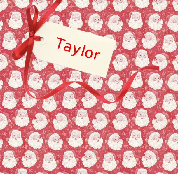Merry Christmas! We have created this Personalised board just for you. We hope you like it!
