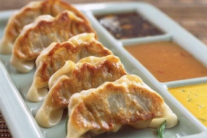 Chicken Dumplings with Shiitake Mushrooms - The Woks of Life |Huge Dumplings