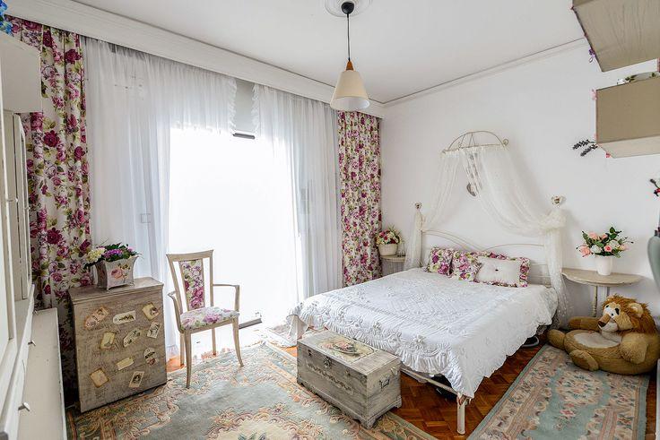 Yπνοδωμάτιο με vintage αισθητική. #realestate #efimesitiko #alexandroupoli