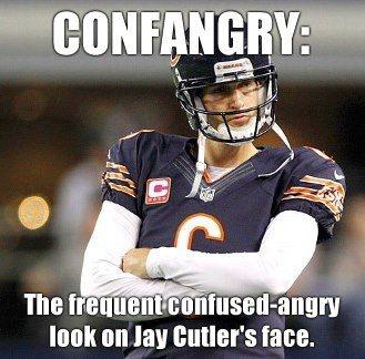 So Jay Cutler! Glad I am not a Bears fan!