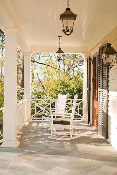 Perfect Southern porch!  Jones Pierce Architects