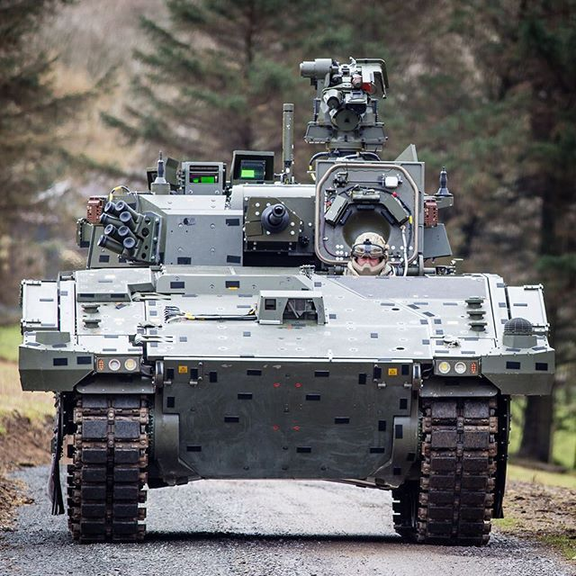 British Army New Fighting Vehicle, AJAX